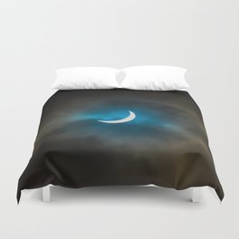 Solar Eclipse 3 Duvet Cover