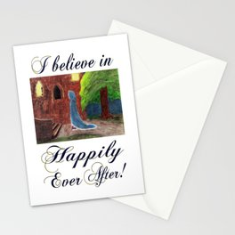 Cinderella's Arrival, I believe in Happily Ever After! Stationery Cards