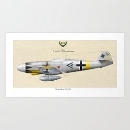 Ace of Aces Art Print