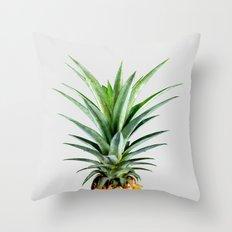 Pineapple V2 #society #buyart #artprints #decor Throw Pillow