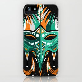 Indian mask iPhone Case