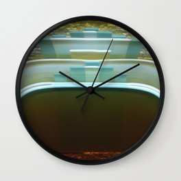 Wave Rise Wall Clock