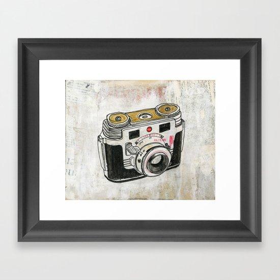 Kodak Signet 35 Framed Art Print