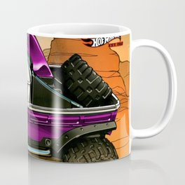 Hot Wheels Pink T1 Rockster Dragster Poster Trade Print Coffee Mug