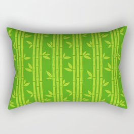 Evergreen Chinese Bamboos Rectangular Pillow