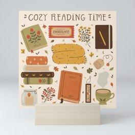 Cozy Reading Time Mini Art Print