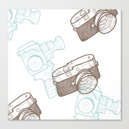 Shoot! Canvas Print