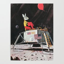 Goodnight Moon and Red Balloon Poster