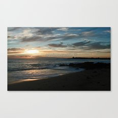 Sunrise over Bass Strait - Tasmania - Australia Canvas Print