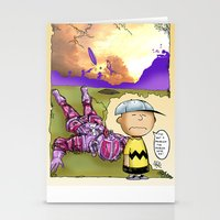 peanuts Stationery Cards featuring Peanuts  by Anand Brai