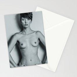 5993 Natasha Au Naturel - Boudoir Eros Studio Beauty Nude Stationery Cards