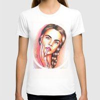 cara delevingne T-shirts featuring Cara Delevingne by  Can Encin
