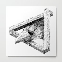 Eagle Frame Metal Print