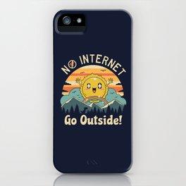 No Internet Vibes! iPhone Case