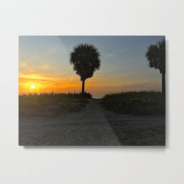 Let Us Start the Day Metal Print