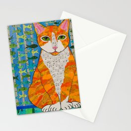 Marmalade Cat Stationery Cards