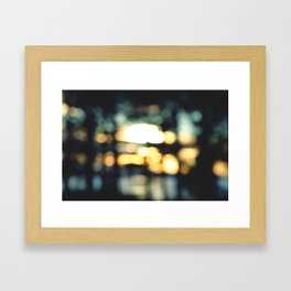 It will clear up Framed Art Print