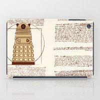 dalek iPad Cases featuring Vitruvian Dalek by Studio Fibonacci