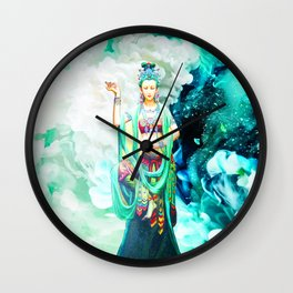 The Goddess of Mercy Wall Clock