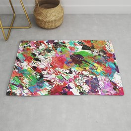 Chaotic Colors of Paint Rug