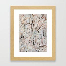 Compartmentalize Framed Art Print