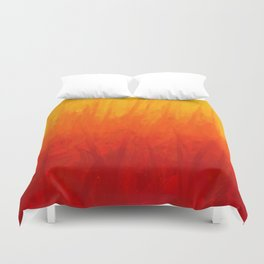 Fire and Liquid Sunshine Duvet Cover