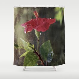 Flower Art II (two parts edition) Shower Curtain