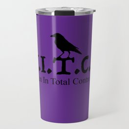W.I.T.C.H. Woman In Total Control Here - purple/black Travel Mug