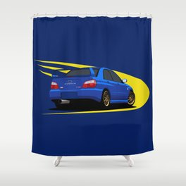 Impreza WRX STI Shower Curtain