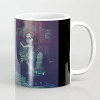 dick Mugs featuring Moby Dick  by Lídia Vives