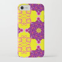 psychadelic iPhone & iPod Cases featuring Psychadelic Flora by Cynthia Squire