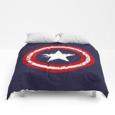 Captain's America splash Comforters