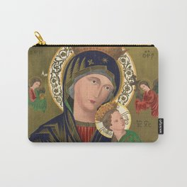 Our Lady of Perpetual Help, 1870 Carry-All Pouch
