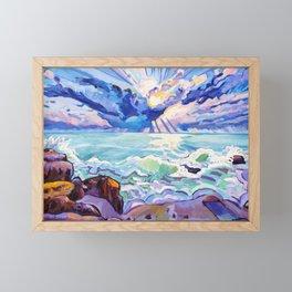Ocean Views Framed Mini Art Print