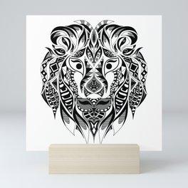 Mr Lion Ecopop Mini Art Print