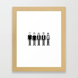 The Cardigans Framed Art Print