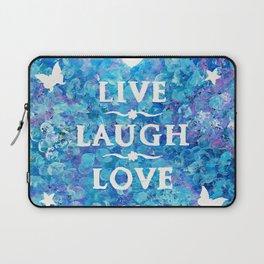 Live, Laugh, Love Laptop Sleeve