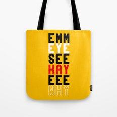Mickey on Yellow Tote Bag