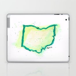 Green Ohio Laptop & iPad Skin