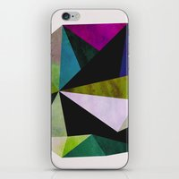 emerald iPhone & iPod Skins featuring Emerald by Georgiana Paraschiv