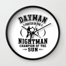 Dayman Wall Clock