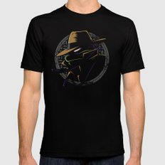 Undercover Ninja Donnie Mens Fitted Tee Black MEDIUM