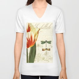 Natural History Sketchbook II Unisex V-Neck
