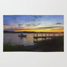 Sunset View in Denbigh Rug