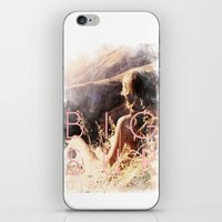 big sur iPhone & iPod Skins featuring BIG SUR by TOO MANY GRAPHIX