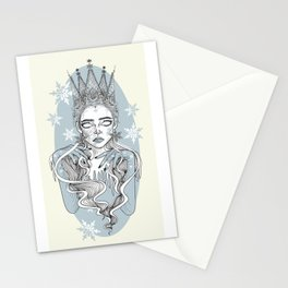 Ice Queen \ Snow Queen Stationery Cards