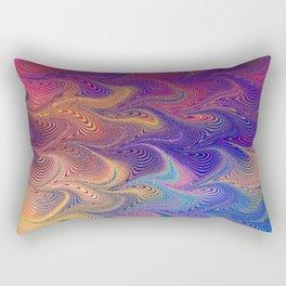 MARBLING-PATTERN-1 Rectangular Pillow