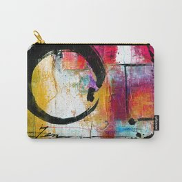 Enso Abstraction No. mm15 Carry-All Pouch