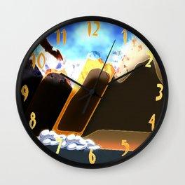 Eagle Soaring (Daylight) Wall Clock