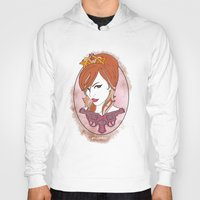 princess Hoodies featuring Princess by AnnaCas